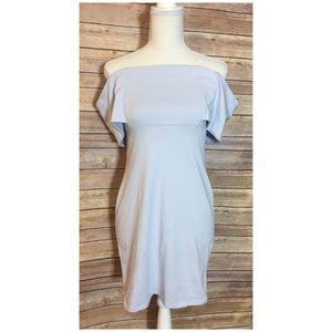 ASOS Off-Shoulder Dress. Size 8.